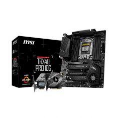 MSI TRX40 PRO 10G MOTHERBOARD (AMD SOCKET TRX4/3RD GEN RYZEN THREADRIPPER SERIES CPU/MAX 256GB DDR4 4666MHZ MEMORY)