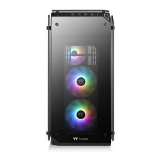 THERMALTAKE VIEW 71 ARGB (E-ATX) FULL TOWER CABINET - WITH TEMPERED GLASS SIDE PANEL AND ARGB FAN CONTROLLER (BLACK) ( CA-1I7-00F1WN-03 )
