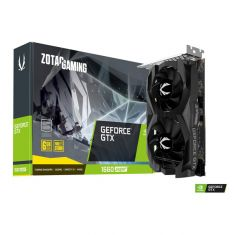Zotac GeForce GTX 1660 SUPER Twin Fan 6GB GDDR6 192-bit Gaming Graphics Card ( ZT-T16620F-10L )
