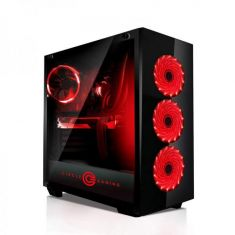 CIRCLE FURIOUS X1 (ATX) MID TOWER CABINET WITH TEMPERED GLASS SIDE PANEL