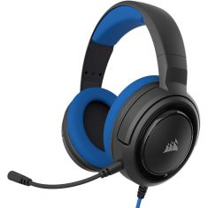 Corsair HS35 Stereo Gaming Headset - Headphones Designed for PC and Mobile – Blue