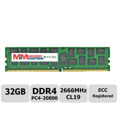 Crucial 32GB DDR4 2666MHz PC4-20800 Registered ECC
