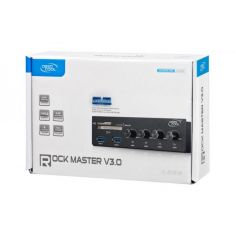 Deepcool Rockmaster V3.0 5.25 inch Bay Fan Controller for 4 Fans