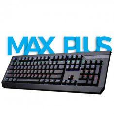 KEYBOARD ZEBRONICS MAX PLUS USB MECHANICAL MULTICOLOR LED