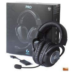 Logitech G Pro X Gaming Headset with Blue VO!CE Technology ( 981-000817 )