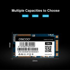 OSCOO SSD M2 NGFF/M.2 2242 Laptop SSD  128GB Solid State Disk High Speed SATA3 m.2 ssd M.2 2242 128 GB