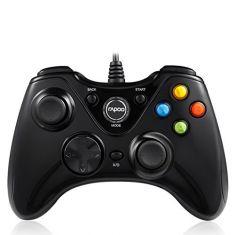 Rapoo V600 Ergonomic Vibration Shock Controller Gamepad