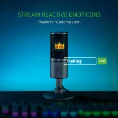 Razer Seiren Emote Condenser Microphone For Streaming (RZ19-03060100-R3M1)