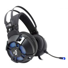Redgear Cosmo 7.1 USB Gaming Headphones with RGB LED Effect, Mic and in-line Controller
