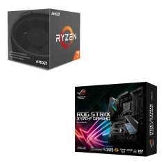Ryzen 7 2700 CPU & ASUS ROG STRIX X470 F-GAMING Motherboard combo deal