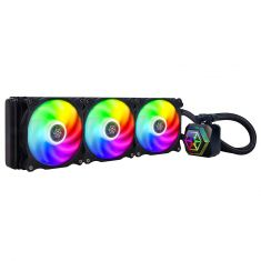 SilverStone 360mm All in One Multi-Chamber Addressable RGB CPU Liquid Cooler Supports(SST-PF360-ARGB)