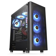 Thermaltake V200 Tempered Glass RGB Edition Mid Tower Chassis ( CA-1K8-00M1WN-01 )