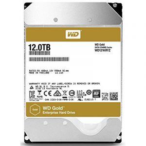 Western Digital Gold 12TB 7200 RPM Enterprise Desktop Internal Hard Disk Drive ( WD121KRYZ )