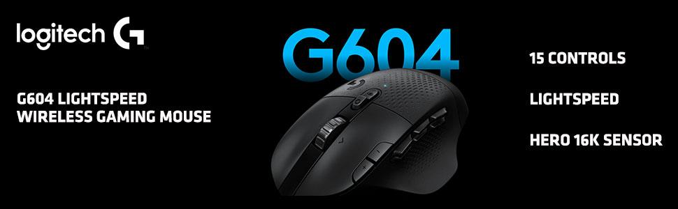 LOGITECH G604 BANNER