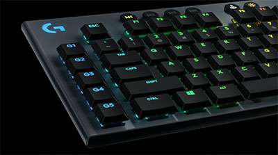 logitech g813 impossibly thin