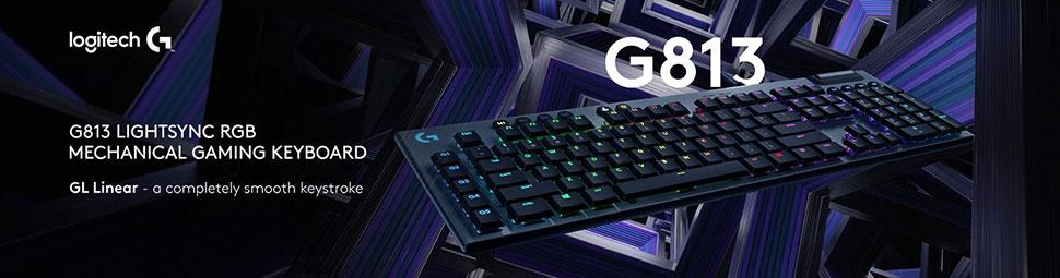 logitech g813 header
