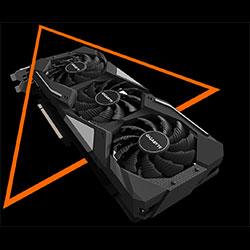 gigabyte 5500xt gaming oc winforce 3x cooling